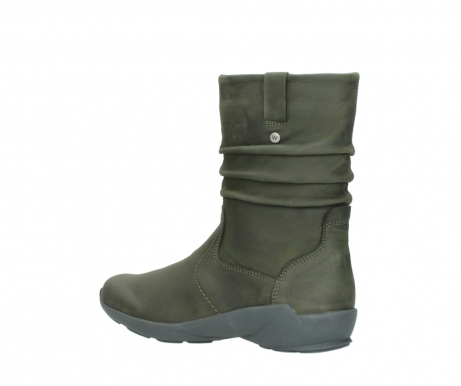 wolky mid calf boots 01572 luna 11732 forestgreen oiled nubuck_3