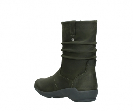 wolky mid calf boots 01572 luna 11732 forestgreen oiled nubuck_4