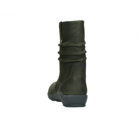 wolky mid calf boots 01572 luna 11732 forestgreen oiled nubuck_6