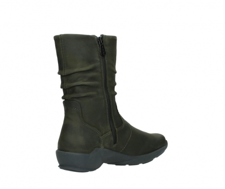 wolky mid calf boots 01572 luna 11732 forestgreen oiled nubuck_10