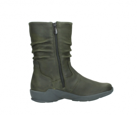 wolky mid calf boots 01572 luna 11732 forestgreen oiled nubuck_12