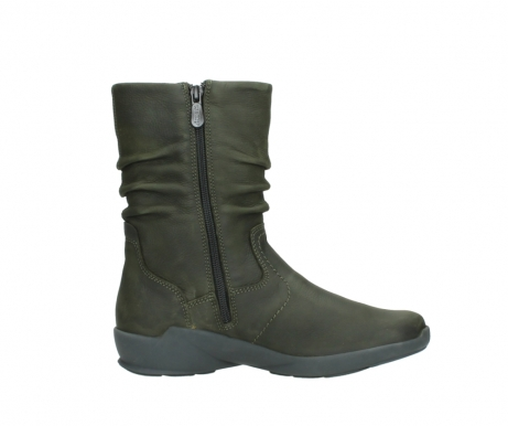 wolky mid calf boots 01572 luna 11732 forestgreen oiled nubuck_13