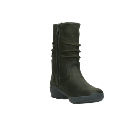 wolky mid calf boots 01572 luna 11732 forestgreen oiled nubuck_17