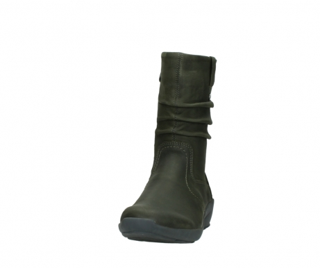 wolky mid calf boots 01572 luna 11732 forestgreen oiled nubuck_20