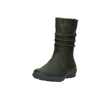 wolky mid calf boots 01572 luna 11732 forestgreen oiled nubuck_21