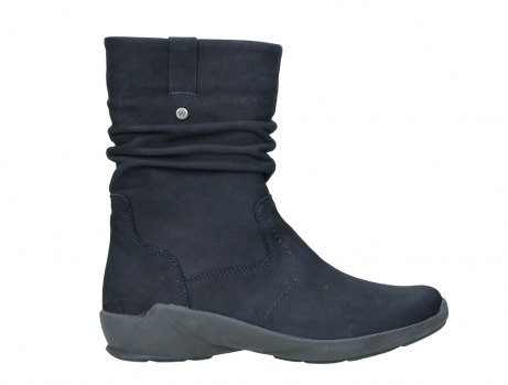 wolky mid calf boots 01572 luna 11802 blue oiled nubuck_1