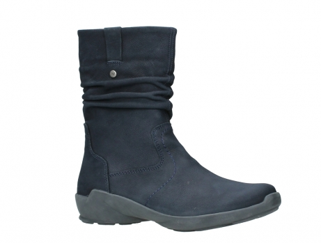 wolky mid calf boots 01572 luna 11802 blue oiled nubuck_3