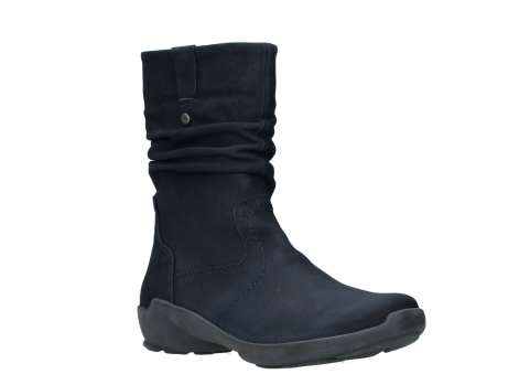 wolky mid calf boots 01572 luna 11802 blue oiled nubuck_4