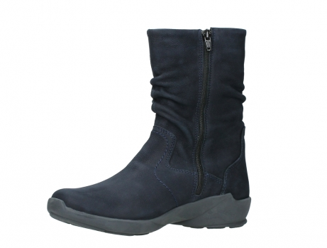 wolky mid calf boots 01572 luna 11802 blue oiled nubuck_11