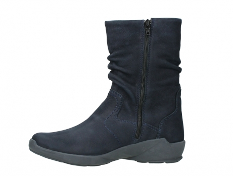 wolky mid calf boots 01572 luna 11802 blue oiled nubuck_12