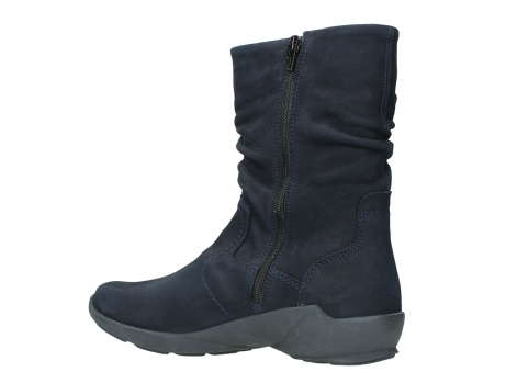 wolky mid calf boots 01572 luna 11802 blue oiled nubuck_15