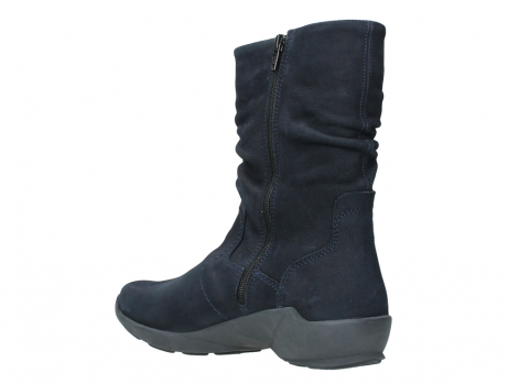 wolky mid calf boots 01572 luna 11802 blue oiled nubuck_16