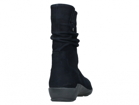 wolky mid calf boots 01572 luna 11802 blue oiled nubuck_20