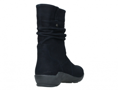 wolky mid calf boots 01572 luna 11802 blue oiled nubuck_21