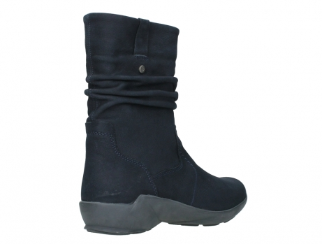 wolky mid calf boots 01572 luna 11802 blue oiled nubuck_22