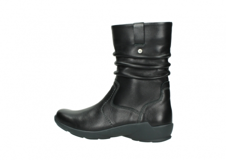 wolky mid calf boots 01572 luna 30001 black leather_2