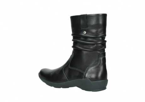 wolky mid calf boots 01572 luna 30001 black leather_3