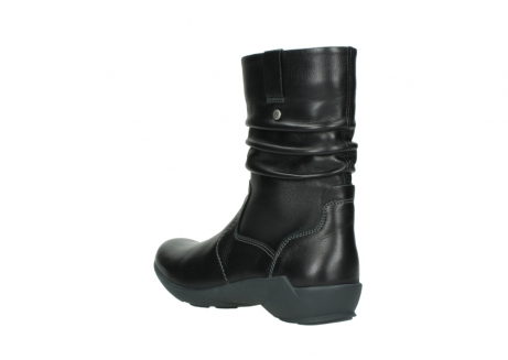 wolky mid calf boots 01572 luna 30001 black leather_4