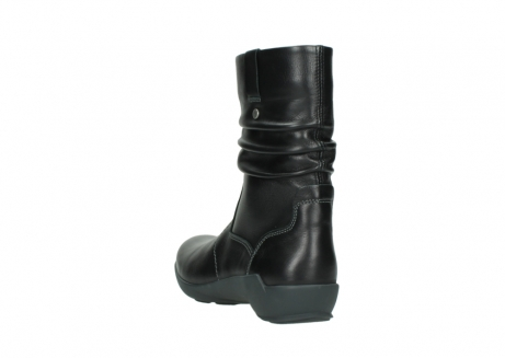wolky mid calf boots 01572 luna 30001 black leather_5