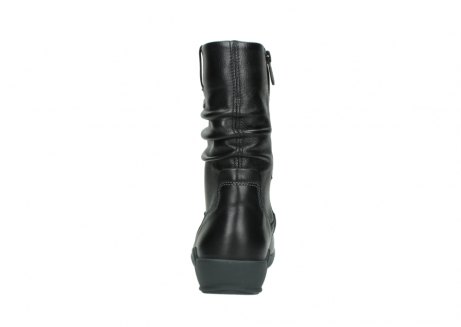 wolky mid calf boots 01572 luna 30001 black leather_7