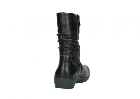 wolky mid calf boots 01572 luna 30001 black leather_8