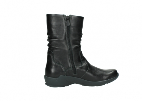 wolky mid calf boots 01572 luna 30001 black leather_12