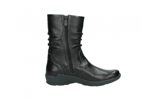 wolky mid calf boots 01572 luna 30001 black leather_13