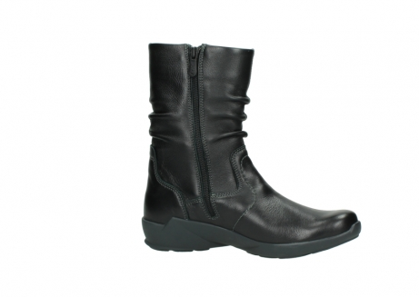 wolky mid calf boots 01572 luna 30001 black leather_14