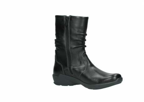 wolky mid calf boots 01572 luna 30001 black leather_15
