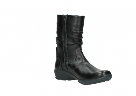 wolky mid calf boots 01572 luna 30001 black leather_16