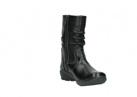 wolky mid calf boots 01572 luna 30001 black leather_17