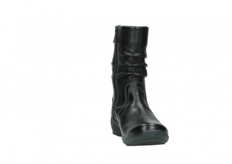 wolky mid calf boots 01572 luna 30001 black leather_18