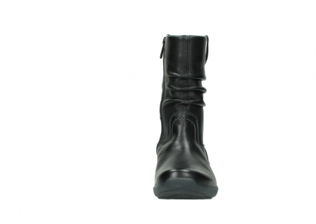 wolky mid calf boots 01572 luna 30001 black leather_19