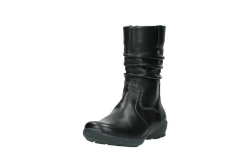 wolky mid calf boots 01572 luna 30001 black leather_21