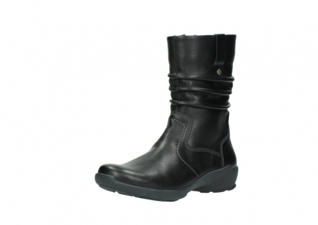 wolky mid calf boots 01572 luna 30001 black leather_22