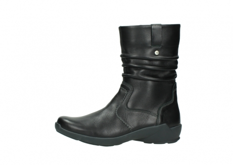 wolky mid calf boots 01572 luna 30001 black leather_24