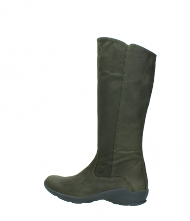 wolky high boots 01575 gelsa 11732 forestgreen oiled nubuck_2