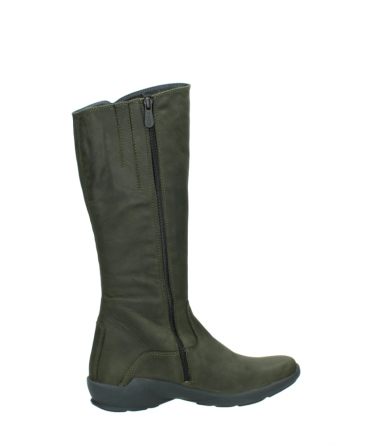 wolky high boots 01575 gelsa 11732 forestgreen oiled nubuck_12