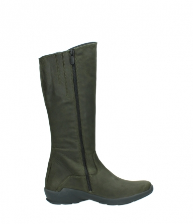 wolky high boots 01575 gelsa 11732 forestgreen oiled nubuck_13
