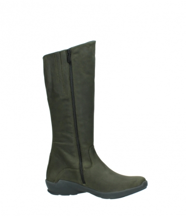 wolky high boots 01575 gelsa 11732 forestgreen oiled nubuck_14
