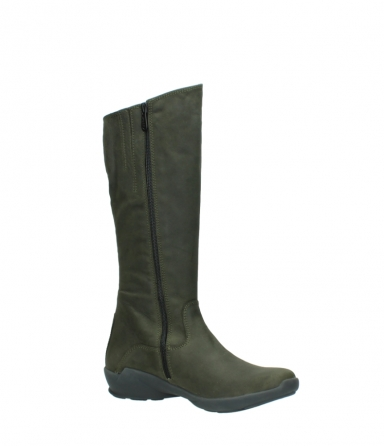wolky high boots 01575 gelsa 11732 forestgreen oiled nubuck_15