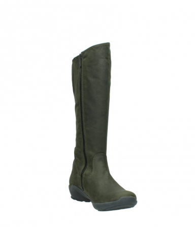 wolky high boots 01575 gelsa 11732 forestgreen oiled nubuck_17