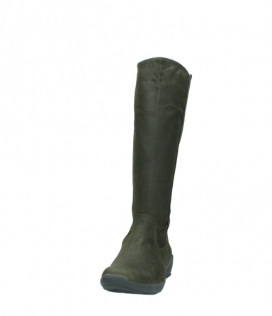 wolky high boots 01575 gelsa 11732 forestgreen oiled nubuck_20