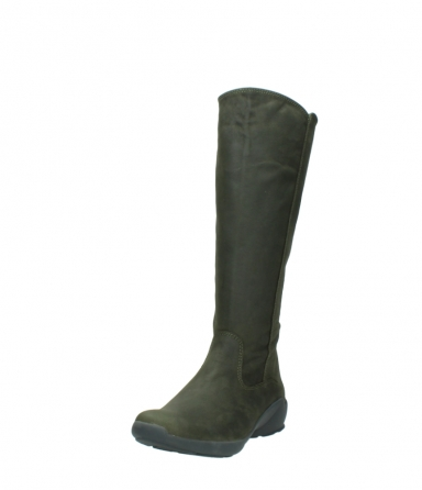 wolky high boots 01575 gelsa 11732 forestgreen oiled nubuck_21