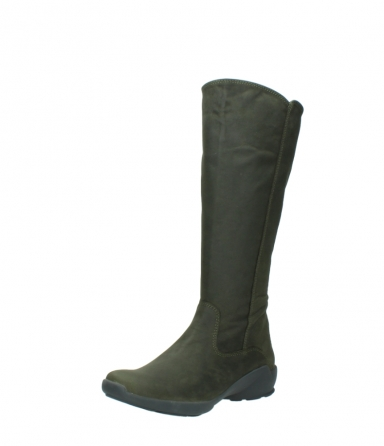 wolky high boots 01575 gelsa 11732 forestgreen oiled nubuck_22