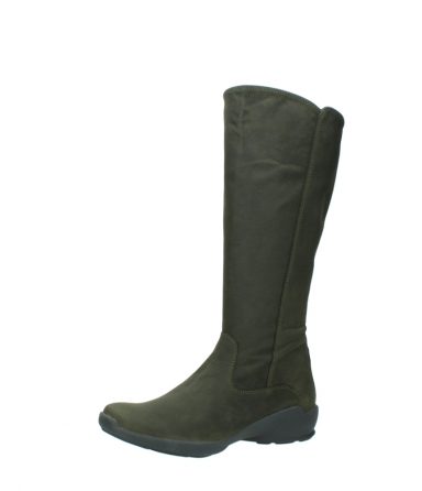 wolky high boots 01575 gelsa 11732 forestgreen oiled nubuck_23