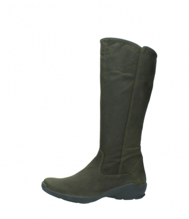 wolky high boots 01575 gelsa 11732 forestgreen oiled nubuck_24