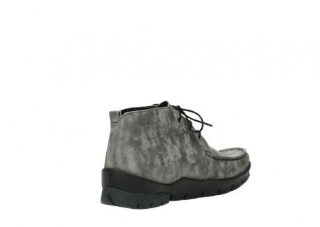 wolky lace up boots 01751 misty 10203 grey nubuck_10