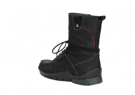 wolky bottines a lacets 01752 galina 11002 nubuck noir_4