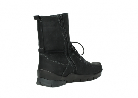 wolky bottines a lacets 01752 galina 11002 nubuck noir_10